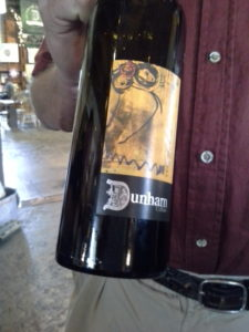 A members-only club Merlot from Dunham Cellars Artists Series.