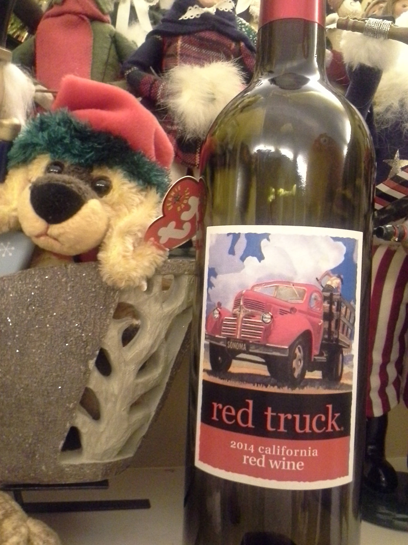 Red Truck California Red Wine