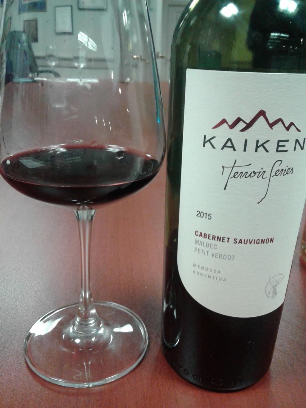 Kaiken Terroir Series Cabernet Sauvignon, Argentina