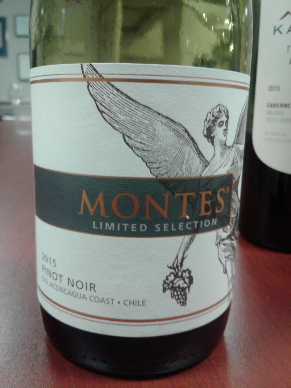 Montes Limited Selection Pinot Noir 2015, Chile
